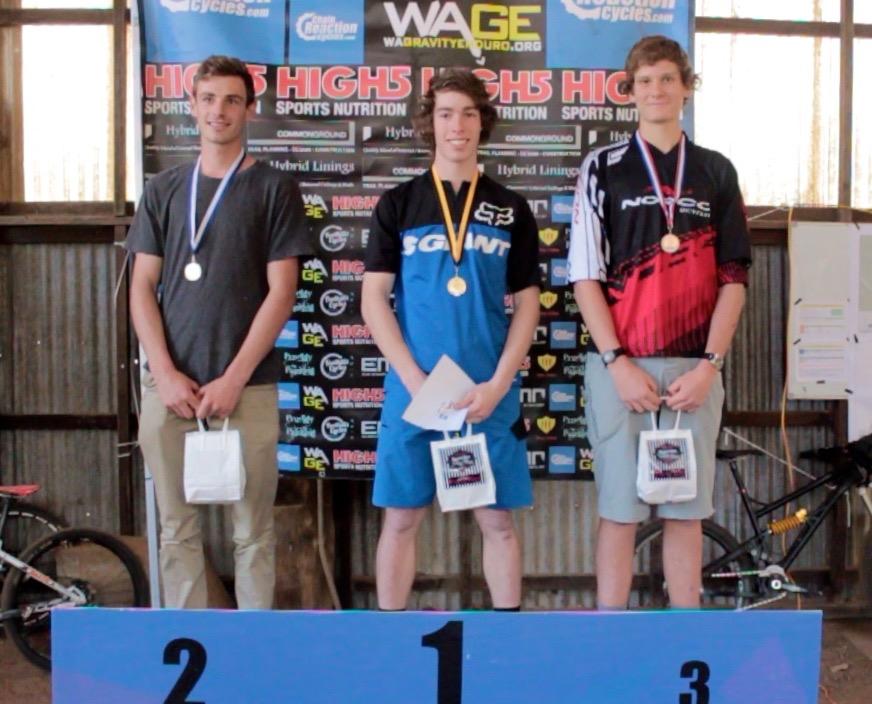 Male Under 19 winners