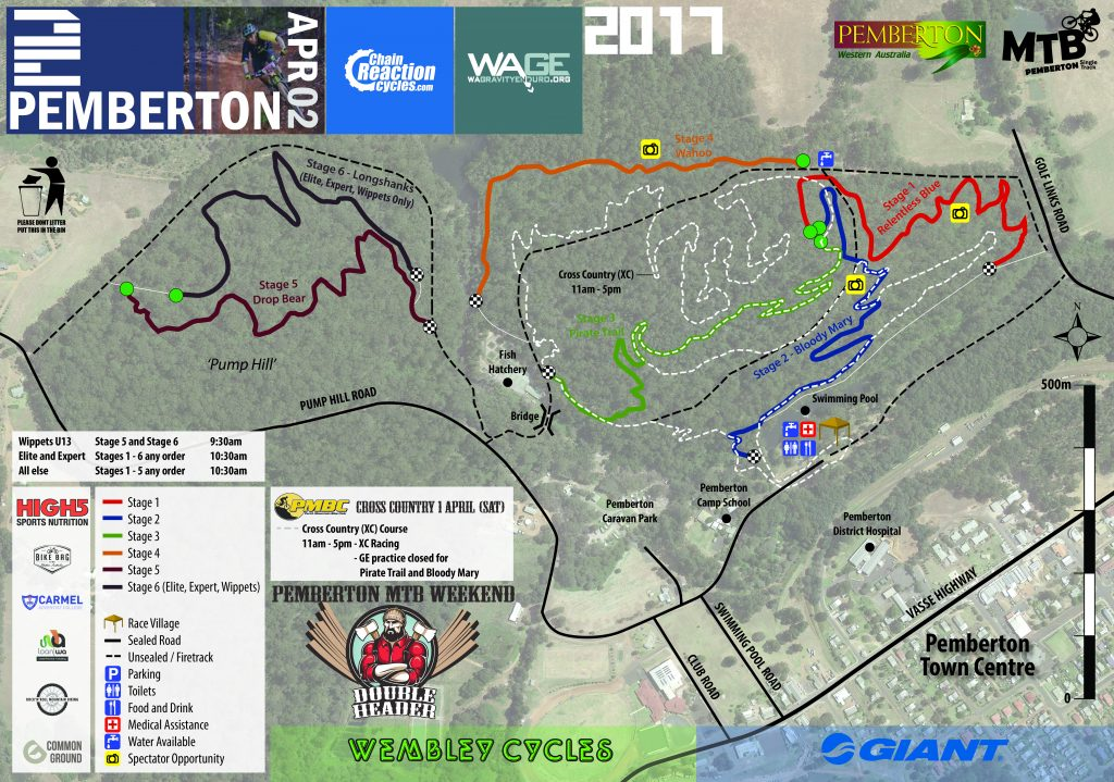 2017 2 course map